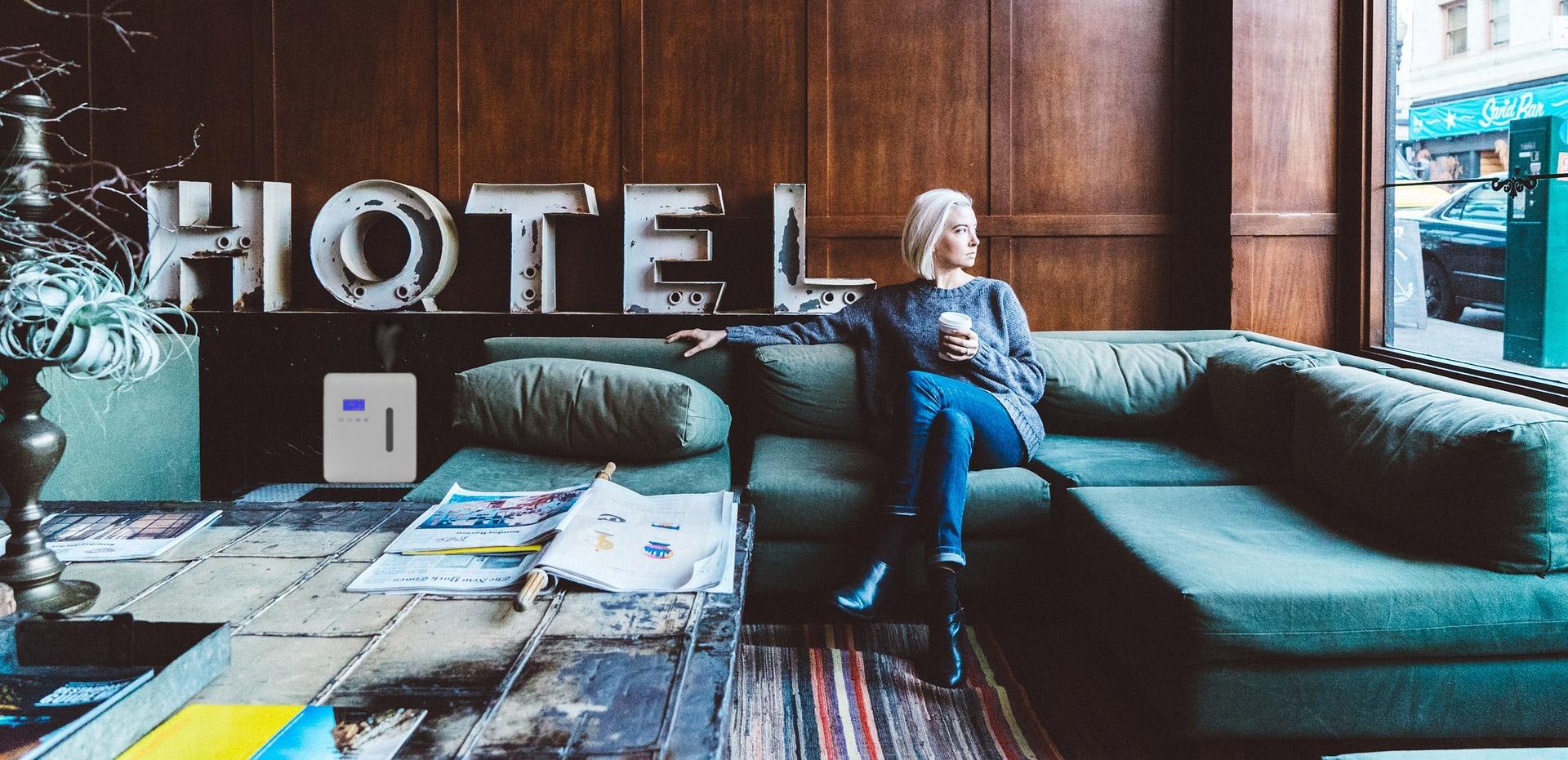 Aroma Therapeutics diffusion olfactive hotel
